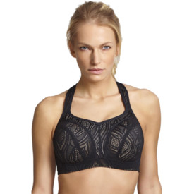 Podprsenka PANACHE SPORTS BRA BLACK/LATTE