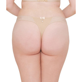 Kalhotky CURVY KATE LUXE THONG BISCOTTI