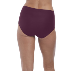 Kalhotky FANTASIE SMOOTHEASE INVISIBLE STRETCH FULL BRIEF BLACK CHERRY