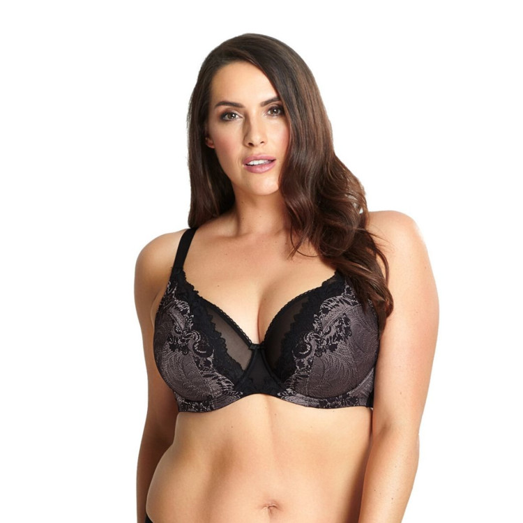 Podprsenka Sculptresse Katya High Apex Black / Pink
