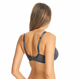 Podprsenka FREYA FANCIES UW PADDED HALF CUP BRA GRAPHITE