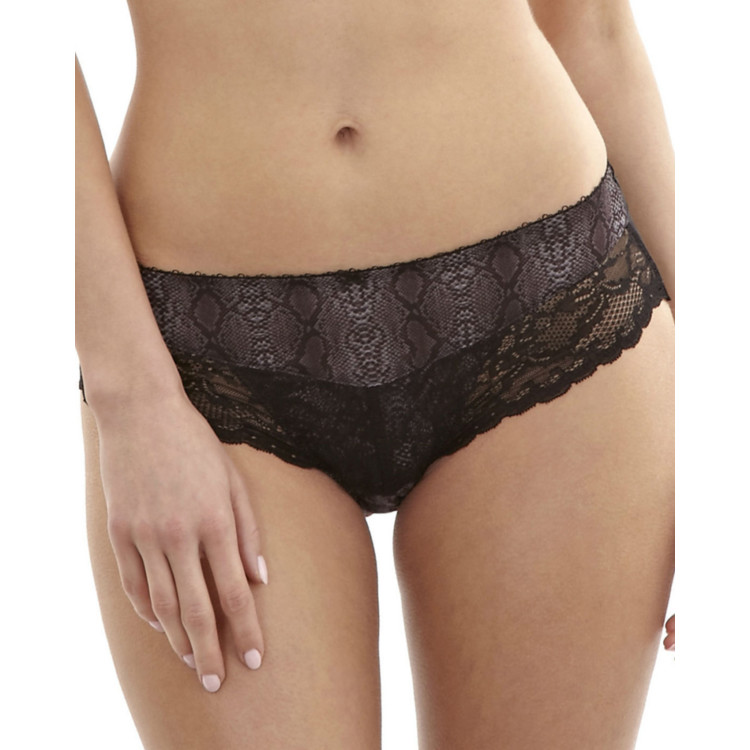 Kalhotky PANACHE JASMINE BRIEF BLACK ANIMAL