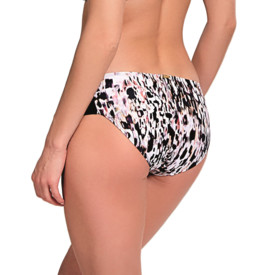 Plavky spodní díl Panache Swim Florentine Gather Pants Animal Print